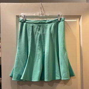 G by Giuliana Teal Blue Skirt